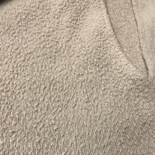 毛束のあるフリース